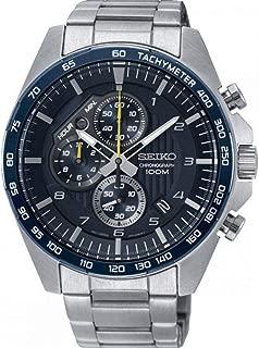 Seiko Chronograph Motor Sports 100m Blue Dial Watch SSB321P1