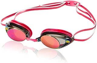 Speedo Women's Vanquisher 2.0 Mirrored Swim Goggles,...
