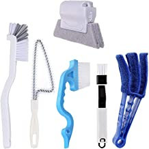 Bestylez Magic Window Cleaning Brush, 6 Pcs Household Deep Cleaning Tool Kit for Baseboard, Blinds, Groove, Track, Sill, G...