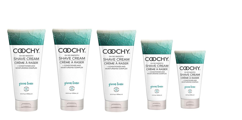 Coochy Body Shave 高品質 Cream - Green Tea Pr by 16oz Bottles 売買 Holiday 3