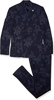 Men's 2 Pc. Slim Fit Suit, Navy, 42L