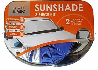 Winplus Vehicle Sunshade 3 Piece Kit
