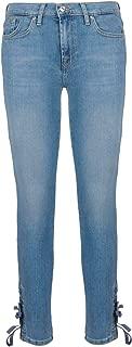 7 for All Mankind Luxury Fashion Womens JSVUR98CF Light Blue Jeans | Season Permanent