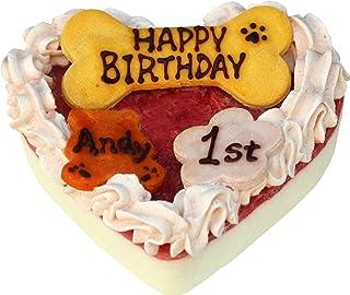 バースデーレアチーズケーキ 犬用 ケーキ 手作り 無添加 無着色 グルテンフリー ドッグ フード 犬 ごはん 記念日 誕生日 ごちそう ごほうび AndyCafe アンディカフェ ドッグメニュー