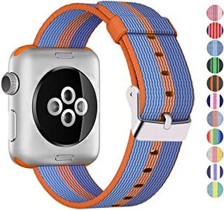 Pantheon Compatible Apple Watch Band 42mm 44mm Nylon - Compatible iWatch Bands/Strap for Women or Men Fits Series 4 3 2 1