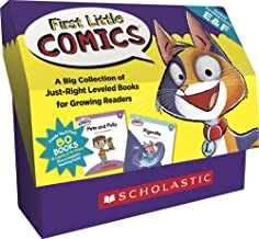 First Little Comics Classroom Set: Levels E & F: 16 Funny Books That Are Just the Right Level for Growing Readers