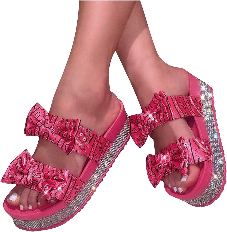 Padaleks Ranking TOP3 Women's Summer Comfort Discount is also underway Flat On Slide Sandal Slip Rhines