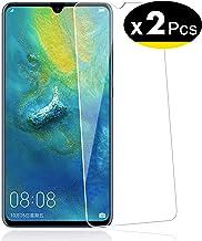 NEW'C 2 Unidades, Protector de Pantalla para Huawei Mate 20x Vidrio Cristal Templado