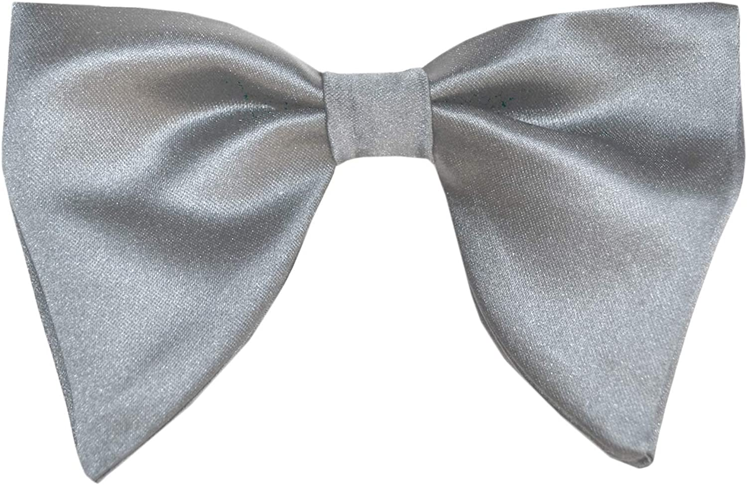 Remo Sartori Made in Italy Men's Butterfly Oversize Pre-Tied Bow Tie for Tuxedo, Adjustable, Silk