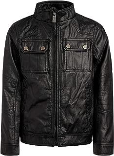 Urban Republic Boy's Faux Leather Officer Jacket