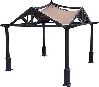 APEX GARDEN Canopy Top for Lowe's 10 ft x 10 ft Gazebo #GF-12S039B / GF-9A037X