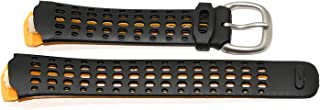 Triax Speed 100 Regular Black Yellow Replacement Rubber Watch Band WC0085-002