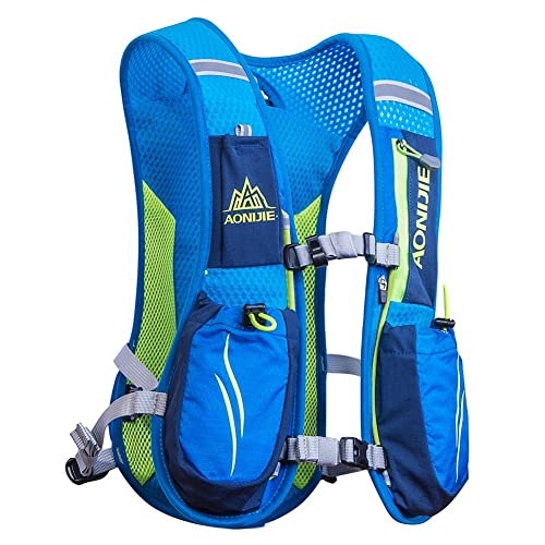 5bff2ea072 AONIJIE Running Backpacks Lightweight Hydration Pack Functional Running Vest  5.5L
