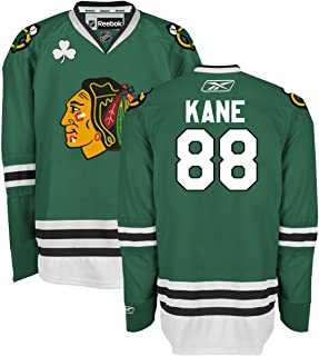 Chicago Blackhawks Youth Patrick Kane #88 St. Patrick's Day Premier Jersey Reebok NHL Official (Small/Medium)