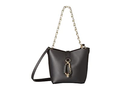 ZAC Zac Posen Belay Mini Chain Hobo (Black) Hobo Handbags