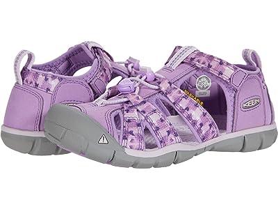 KEEN Kids Seacamp II CNX (Little Kid/Big Kid) (African Violet/Lavender Fog) Girls Shoes