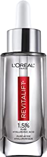 L'Oreal Paris Skincare Revitalift Derm Intensives 1.5% Pure Hyaluronic Acid Face Serum, Hyaluronic Acid Serum for Skin, Hy...