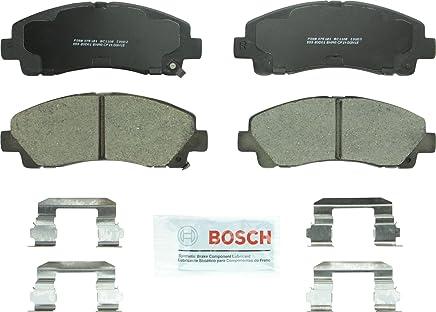 Bosch BC1102 QuietCast Premium Ceramic Disc Brake Pad Set For: Acura TL; Honda Ridgeline, Front