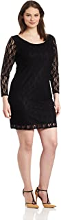 short dresses with long sleeves plus size