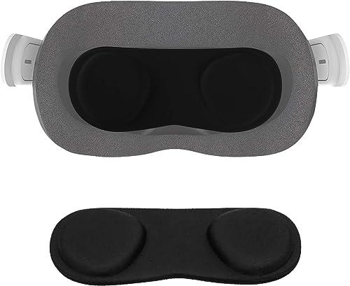 NEWZEROL VR Cache Objectif Protection pour Oculus Quest/Oculus Quest 2 [Anti-Rayures] [Anti Poussière], Doux Conforta...