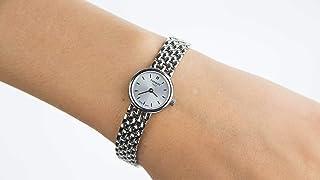 تيسوت ساعة رسمية للنساء انالوج بعقارب ستانلس ستيل - T058.009.11.031.00