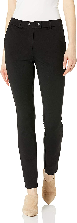 jules & leopold Women's Slim Leg Ponte Pant