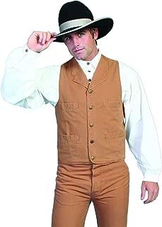 Scully Men's Rangewear Cotton Canvas Vest