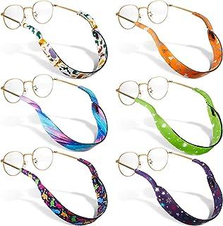 دارنده عینک آفتابی 6 عددی دارنده عینک آفتابی دارنده عینک نئوپرن دارنده عینک آفتابی بند بند گردن بند نگهدارنده ایمنی برای پسران دختران کودک
