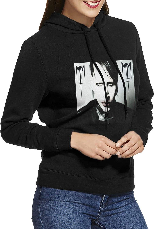 Marilyn Manson Hoodie Female Japan's largest assortment Casual Sweatshirts Cotton Colorado Springs Mall Long Slee