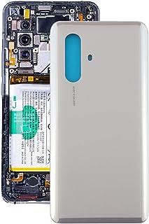 Fulvit for. Vivo x30 5gのバッテリバックカバー (Color : Silver)