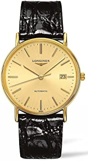 Longines Presence Leather Automatic Mens Watch L49212322