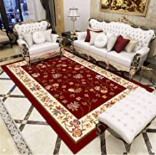 Living Room Rug Europe Classic Style Carpet Red Flora Royal Palace Pattern Rugs and Carpets for Bedroom Blue Large Carpet ...