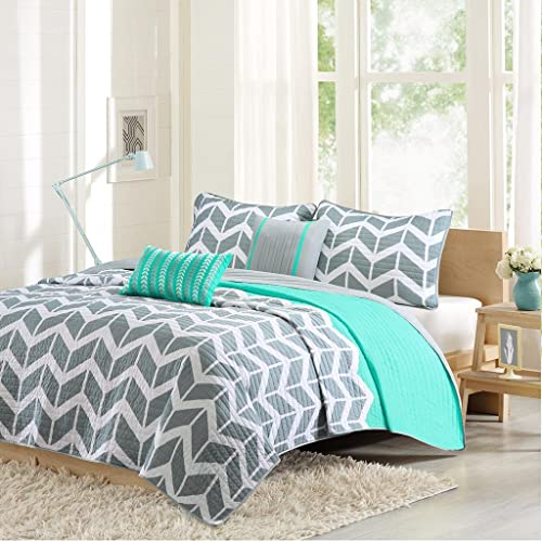 Teal Bedding Quilt King Amazoncom