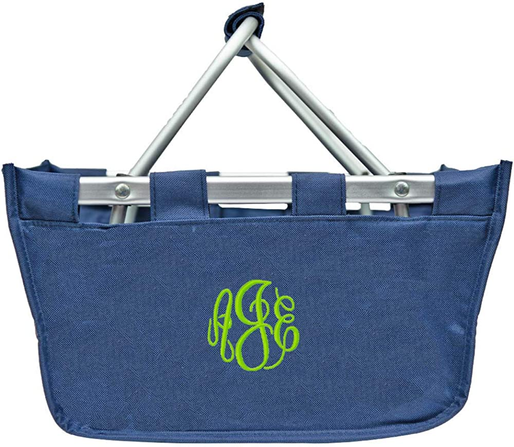 Personalized Mini Market Tote Basket Organizer