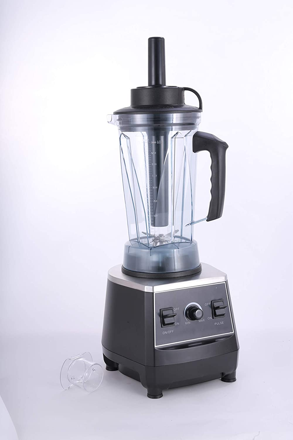 Hakka Commercial Professional Blender for Shakes and Smoothies, 1500W Multi- Function Smoothie Maker, 32000RPM Food Processor with 2L 8-Cup Jar