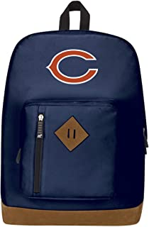 """Officially Licensed NFL Chicago Bears """"Playbook"""" Backpack, Blue, 18"""" x 5"""" x 13"""""""