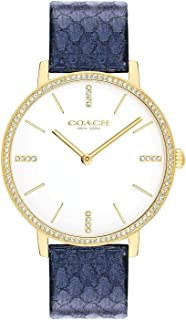 Coach | Womens | Audrey | Metallic Navy Leather | White Dial | 14503351