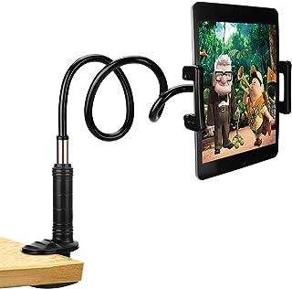 PEYOU Soporte para Tablet, Soporte Móvil Multiángulo con Cuello de Cisne Brazo para iPad Serie, Nintendo Switch, Samsung Tab, Huawei Mediapad, Kindle Fire, iPhone,Samsung, Huawei y más - 87cm