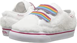 (Shearling Rainbow) True White