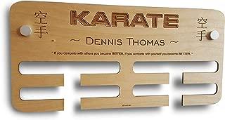karate medal display