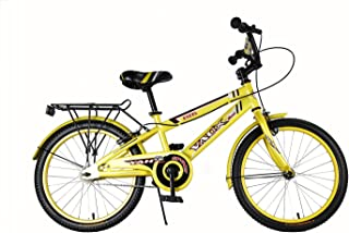 """Vaux Bicycle for Kids- Vaux Excel 20T Kids Bicycle for Boys. Ideal for Cyclist with Height (3'11"""" – 4'3"""") – Yellow"""