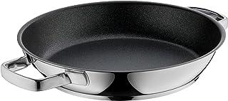 WMF Permadur Advance - Sartén (28 cm, acero inoxidable Cromargan, resistente a los arañazos, asas de acero inoxidable, apta para inducción, sin PFOA)