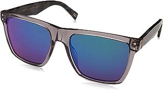 نظارة شمسية مارك 119/S T5 26U 54 للرجال من مارك جايكوبز، (هافان رمادي/عدسة اس بي خضراء)