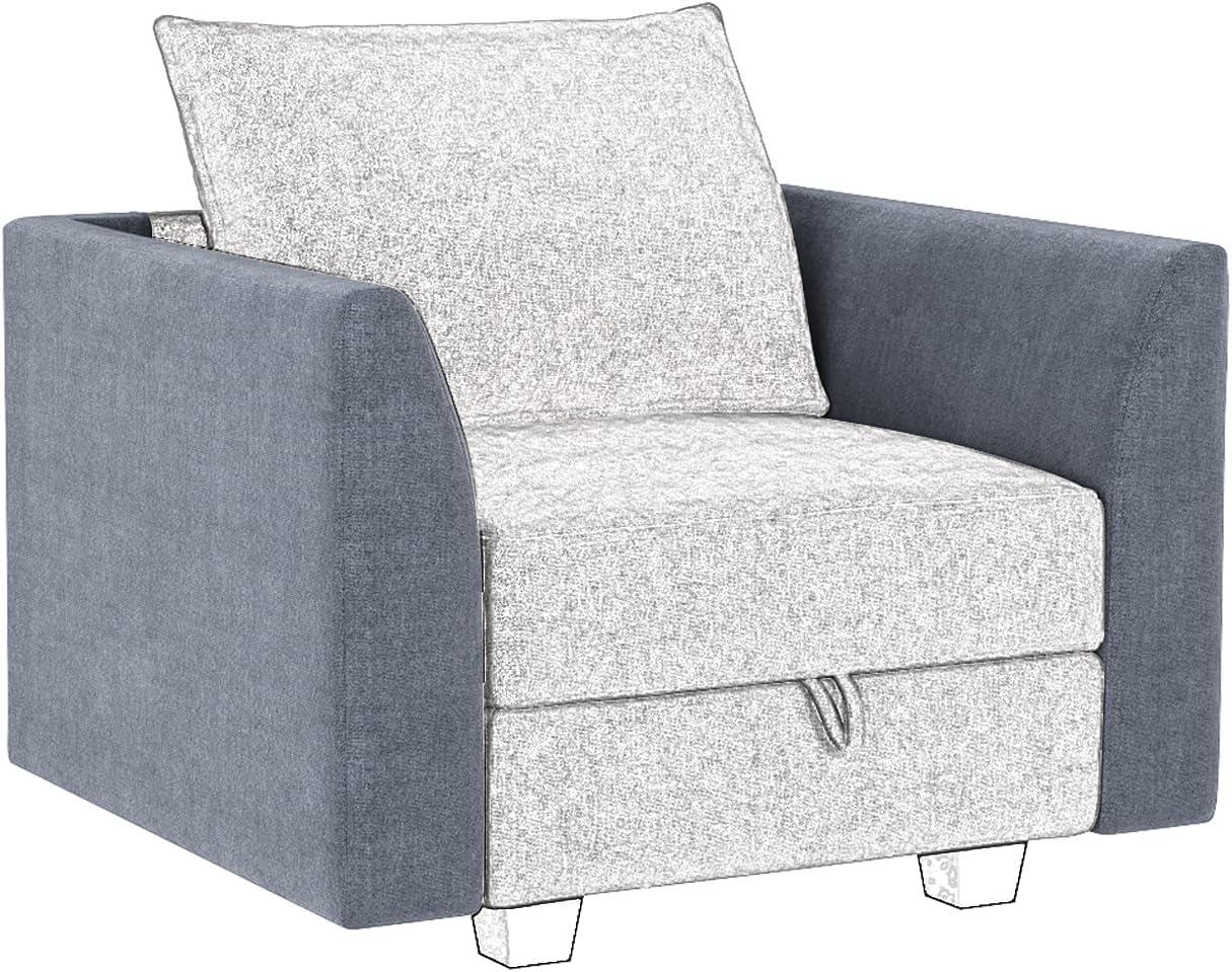 HONBAY OFFicial shop Side Armrest Module for Sofa Modular Pair of Armrests Seasonal Wrap Introduction