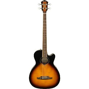 Fender FA-450CE Acoustic Bass Guitar - 3-Color Sunburst - Laurel Fingerboard