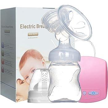 Elektrische Milchpumpe Pink schmerzfreie Einzelmilchpumpe in Krankenhausqualit/ät ausgezeichneter Massagemodus wiederaufladbar 2 Modi 9 starke Saugstufen