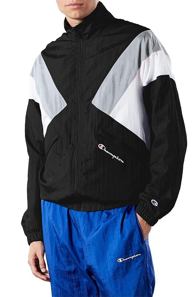 解明するシュリンク最大の[チャンピオン] メンズ ジャケット?ブルゾン Champion Nylon Warm-Up Jacket [並行輸入品]