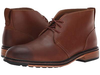 Bostonian Costigan Mid WP (Dark Tan Leather) Men