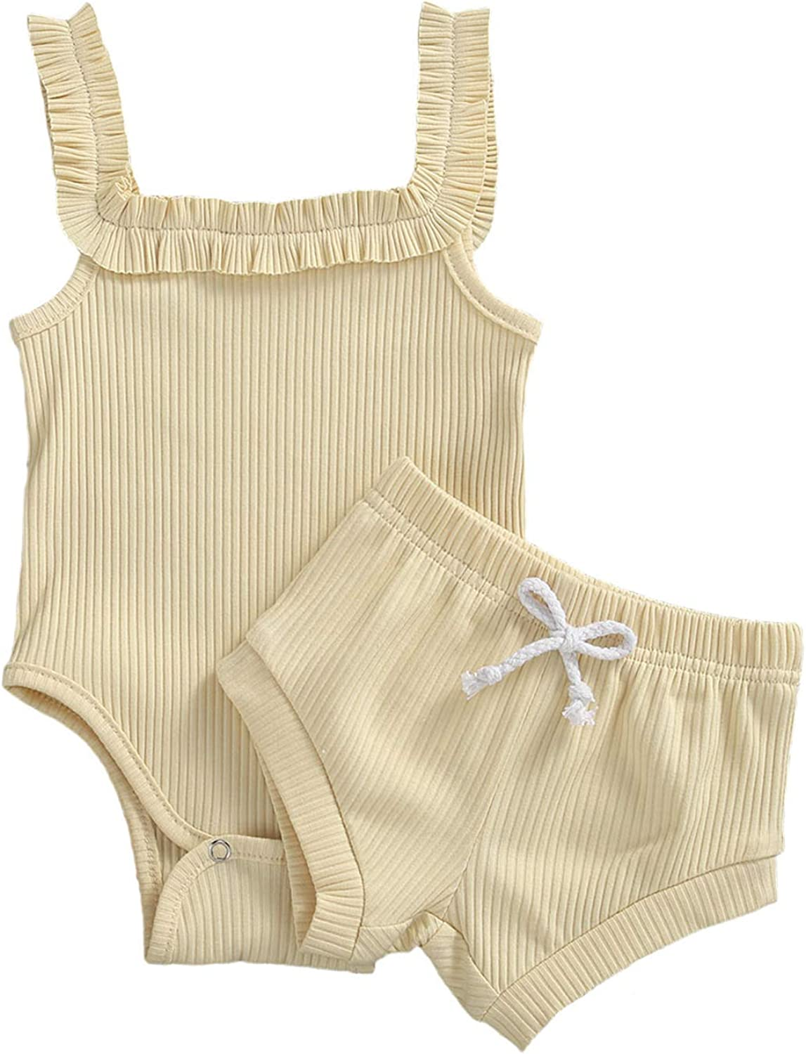 Toddler Baby Girls San Diego Mall Store Boys Ribbed Solid Clothes Romper Bodysuit Dra