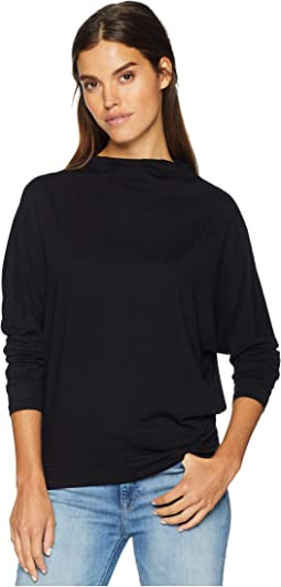 Ultra Jersey Long Sleeve Open Neck Dolman